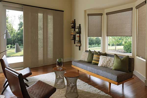 Panel Track for sliding glass patio doors - ZebraBlinds.ca
