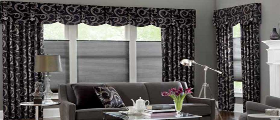 Fabric Valances Window Dressing - ZebraBlinds.ca