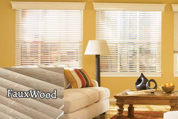 Fauxwood blinds - Zebrablinds.ca