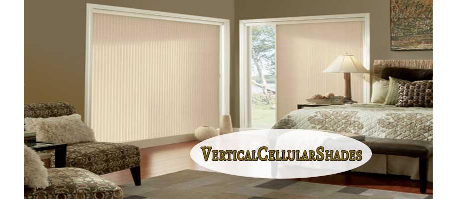 Blackout Vertical Cellular Shades - ZebraBlinds.ca