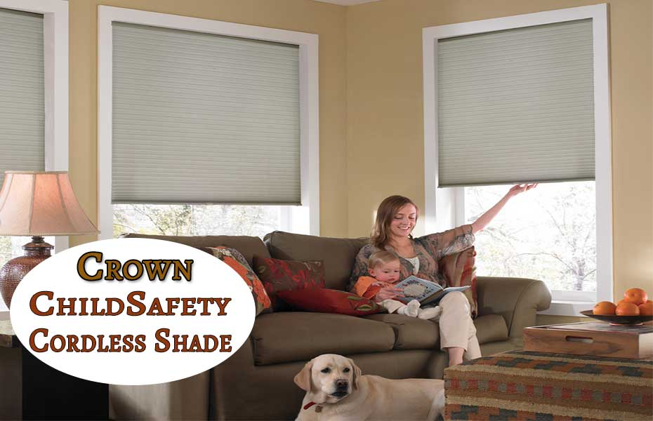 Safety-Cordless-Cellular Shades - ZebraBlinds.ca