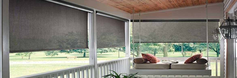 Exterior-Solar-Shades - ZebraBlinds.ca