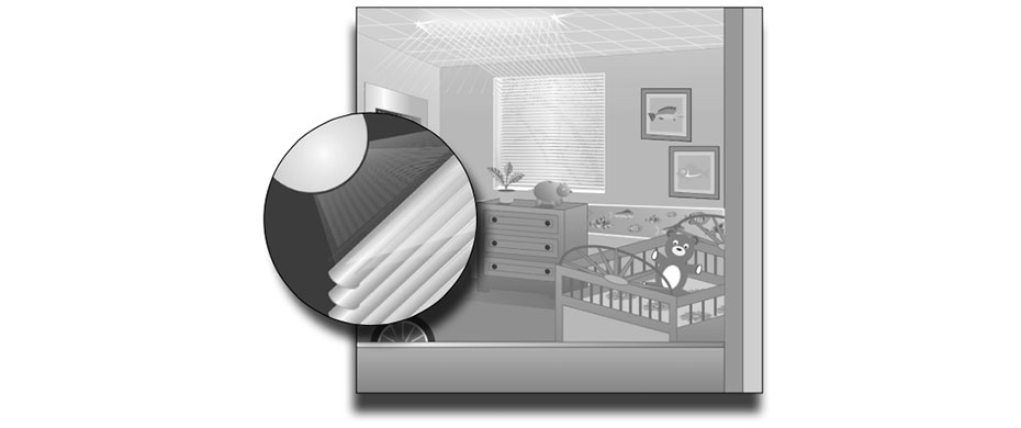 Inverted-brushed-aluminum-blinds - ZebraBlinds.ca