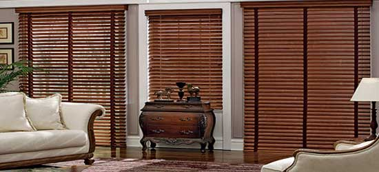 Faux Wood Window Blinds- ZebraBlinds.ca